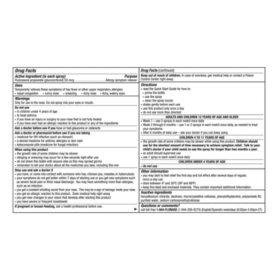 FLONASE Allergy Relief Nasal Spray (0 54 fl  oz , 120