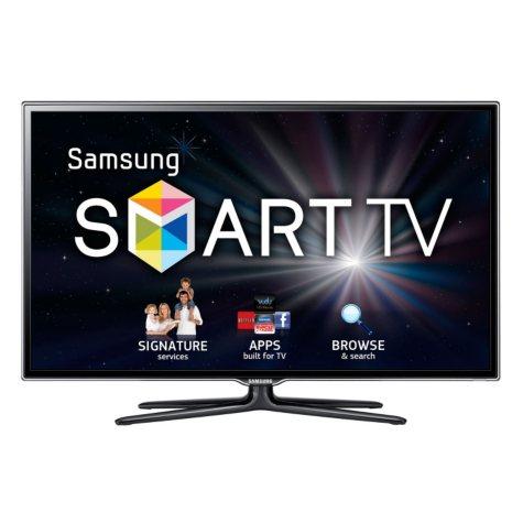 "40"" Samsung 3D LED 1080p CMR 480 HDTV w/ 4 pairs of 3D Glasses"