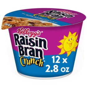 RAISIN BRAN CUPS 12 COUNT