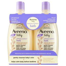 Aveeno Baby Calming Comfort Bath Wash (18 fl. oz., 2 pk.)