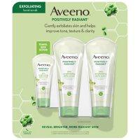 Aveeno Positively Radiant Face Scrub (3 pk.)