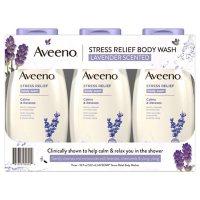 Aveeno Stress Relief Body Wash with Lavender & Chamomile, (18 oz., 3 pk.)