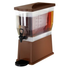 Beverage Dispenser, Brown (3 gal.)