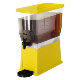 Beverage Dispenser, Yellow (3 gal.)