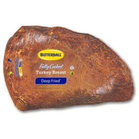 Butterball Fully-Cooked Deep-Fried Turkey Breast (priced per pound)