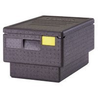 Cambro EPP180S Cam GoBox Stackable 45.4 qt. Top Loader Pan Carrier