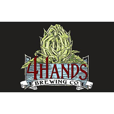 4 Hands Single Speed American Blonde Ale (12 fl. oz. can, 12 pk.)