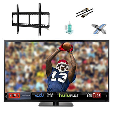 "70"" VIZIO LED 1080p 120HZ Smart HDTV w/ Tilt Mount Kit"