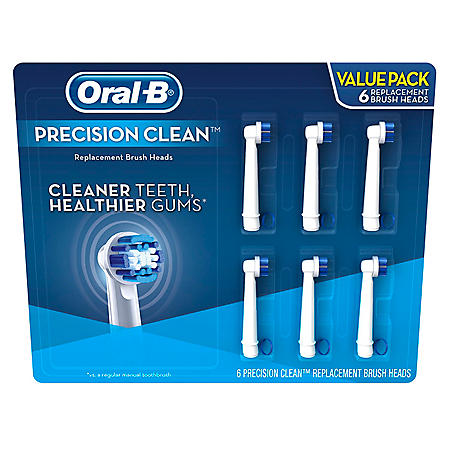 Oral-B Replacement Brush Heads, Precision Clean (6 ct