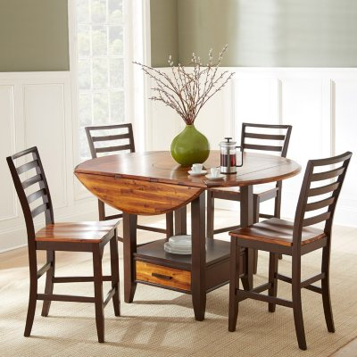 Attractive Pierson Counter Height Dining Set By Lauren Wells   5 Pc.