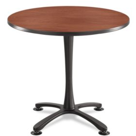 "Safco Cha-Cha 42"" x 36"" Bistro Hospitality Table, Select Color"