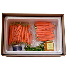 Spiced Baby Carrots Kit (serves 6-8)