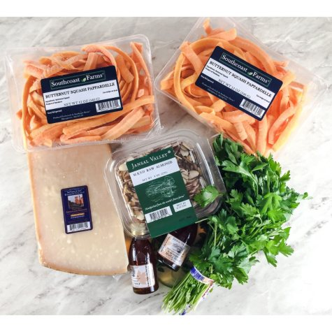 Spiced Butternut Squash Pappardelle Kit (serves 4-6)