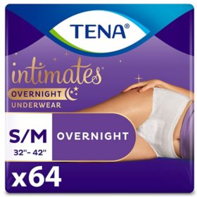 TENA Incontinence Overnight Underwear for Women Bundle