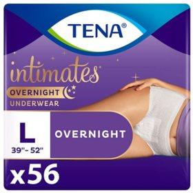 TENA Incontinence Overnight Underwear for Women Bundle