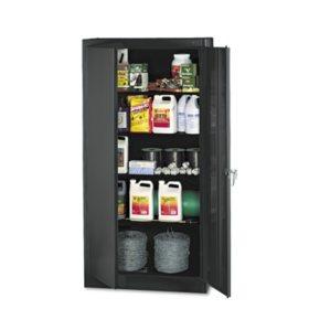 "Tennsco 72"" 4-Shelf Storage Cabinet, Select Color"