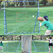 EZ-Goal Baseball Super Fast Pitch-back Rebounder Set