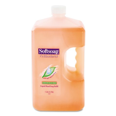 Softsoap - Antibacterial Hand Soap Refill - 1 Gal - Case of 4