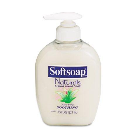 Softsoap - Moisturizing Hand Soap w/Aloe, 7.5oz - 12 pk.