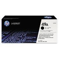 HP 49A Original Laser Jet Toner Cartridge, Black (2,500 Page Yield)