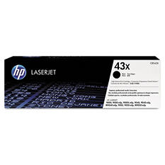 HP 43X Original Laser Jet Toner Cartridge, Black (30,000 Yield)