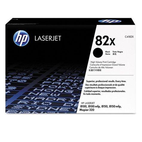 HP 82X Original Laser Jet Toner Cartridge, Black (20,000 Page Yield)