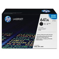 HP 641A Original Laser Jet Toner Cartridge, Select Color