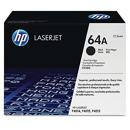 HP 64A Original Laser Jet Toner Cartridge, Black (10,000 Page Yield)