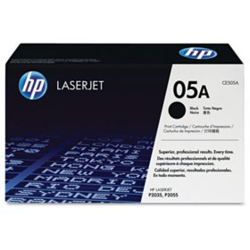 HP 05A Original Laser Jet Toner Cartridge, Black, Select Type (2,300 Page Yield)