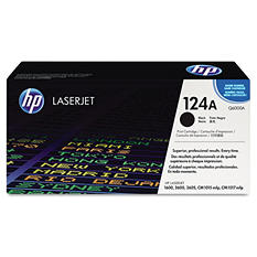 HP 124A Original Laser Jet Toner Cartridge, Select Color