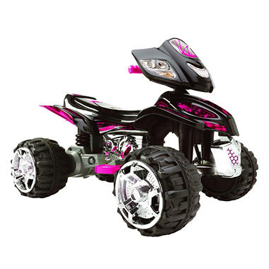 Monster TRAX 12 Volt ATV Ride-On - Pink