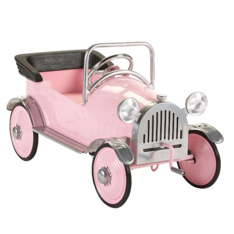 Pink Princess Pedal Car