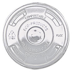 Eco-Products Compostable Flat Drink Lids (1,000 ct.)
