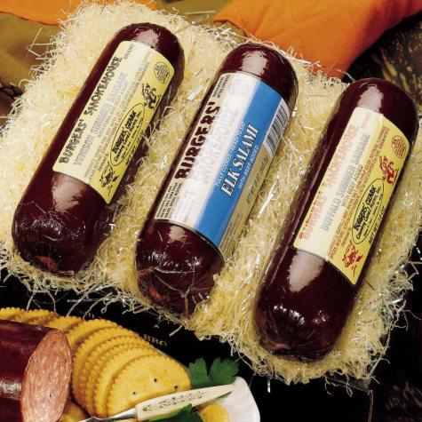 Burgers' Smokehouse Wild Game Sausage Sampler