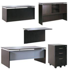 "Alera SedinaAG Series 66"" U-Workstation with Stack-on Storage, Select Color"