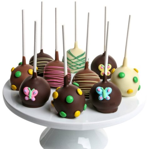 Spring Chocolate-Dipped Cake Pops (10 pc.)