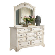 Carlisle 10-Drawer Dresser and Mirror