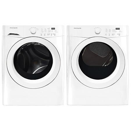Frigidaire Washer and Dryer Laundry Bundle