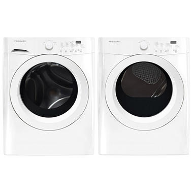 Frigidaire Washer and Dryer Laundry Bundle