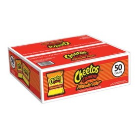 Cheetos Flamin' Hot Crunchy (1 oz., 50 ct.)