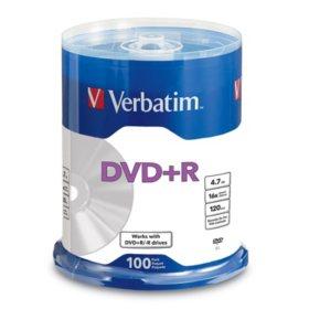 Verbatim DVD+R Life Series 4.7GB 16X, 100pk Spindle