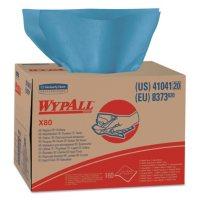 WypAll* - X80 Wipers, Brag Box, HYDROKNIT, 12 1/2 x 16 4/5 -  160 Wipers/Carton