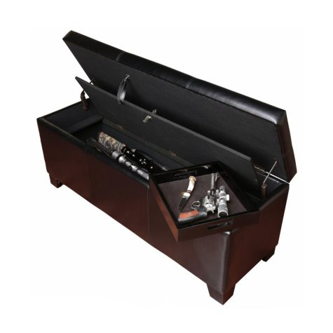 5 Long-Gun Concealment Bench