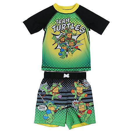 ca25231c96 Teenage Mutant Ninja Turtles Rashguard and Swim Trunk Set - Sam's Club