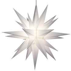 """21"""" Lighted LED Holiday Star"""