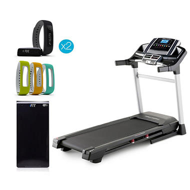 ProForm ZT 8 Treadmill w/ iFit Vue(2), Module and Sport Pack Wristbands