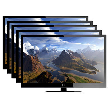 "5 units of 32"" LG LED 720p HDTV"