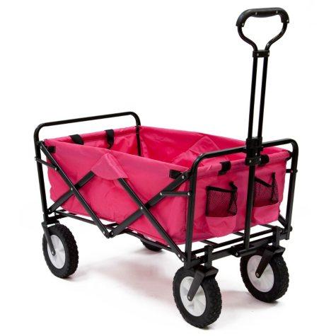 Pink Folding Wagon