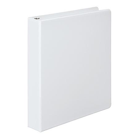 """Wilson Jones - 362 Basic Round Ring View Binder, 1"""" Capacity -  White"""