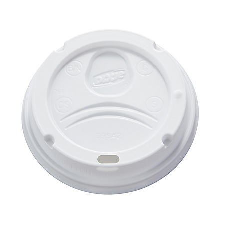 Dixie PerfecTouch Domed Hot Cup Plastic Lids, Fits 10-20 oz. (500 ct.)